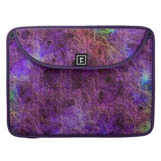 Extracto púrpura Amethyst colorido Fundas Macbook Pro