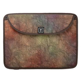 Extracto púrpura azul de Brown del tono colorido Funda Macbook Pro