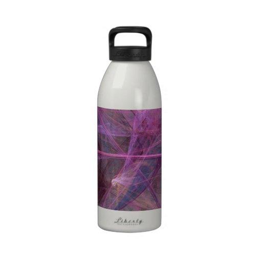 Extracto púrpura botella de agua reutilizable