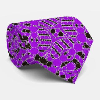 Extracto púrpura de Bling Corbata