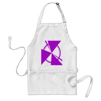 extracto púrpura de la MOD Delantal