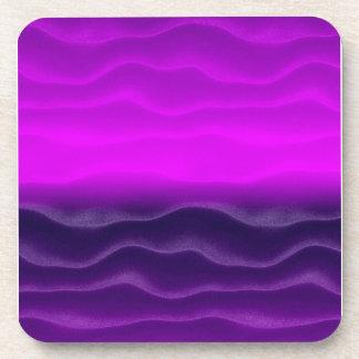 Extracto púrpura de las dunas de arena posavaso