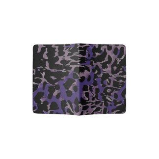 Extracto púrpura del guepardo de la lavanda porta pasaporte