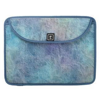 Extracto púrpura fresco colorido del verde azul fundas para macbooks