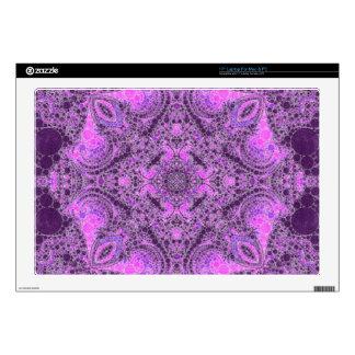 Extracto púrpura rosado brillante portátil calcomanía
