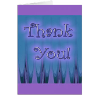 Extracto púrpura tarjeta de felicitación