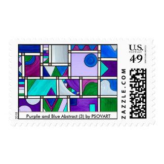 Extracto púrpura y del azul 3