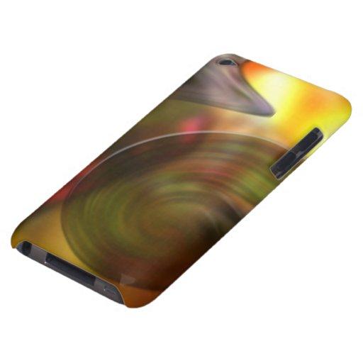 Extracto que remolina de colores barely there iPod funda