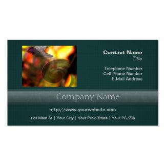 Extracto que remolina de colores plantilla de tarjeta personal