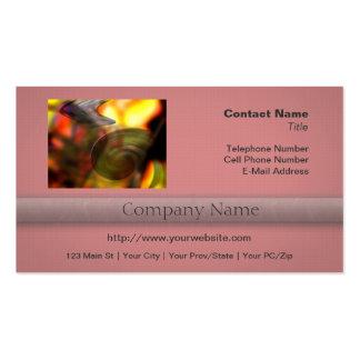 Extracto que remolina de colores plantillas de tarjetas personales