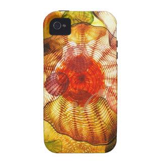 Extracto que sopla de cristal colorido Case-Mate iPhone 4 carcasa