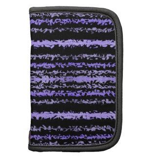Extracto rayado de la púrpura salvaje organizadores