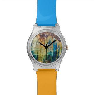 Extracto representado del nacional de las rocas a reloj de mano