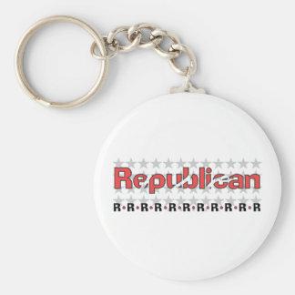 Extracto republicano llavero personalizado