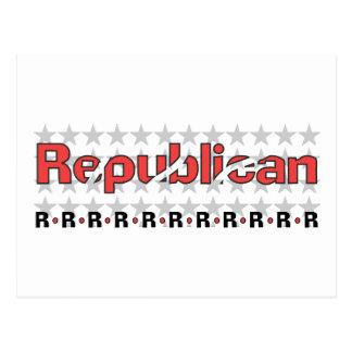 Extracto republicano tarjeta postal