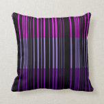 Extracto retro violeta multi del diseño del arte d cojines