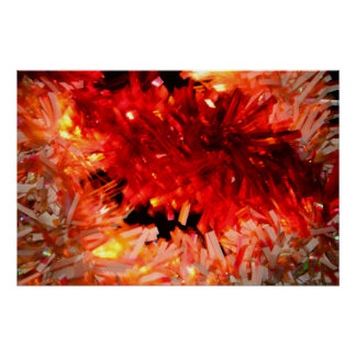 extracto rojo de la guirnalda