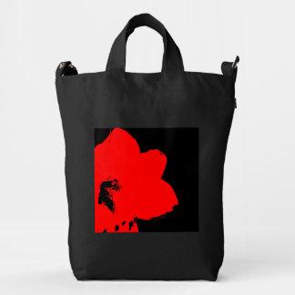 extracto rojo del amaryllis bolsa de lona duck