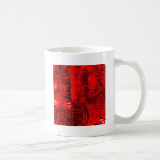 Extracto rojo/del negro tazas