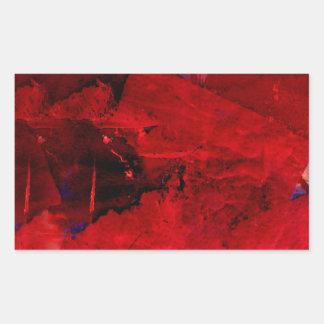 Extracto rojo etiqueta