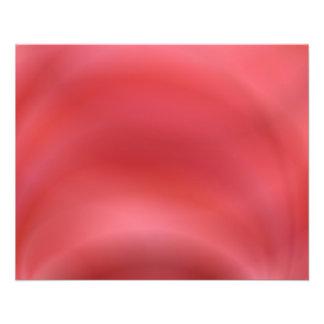 Extracto rojo folleto 11,4 x 14,2 cm