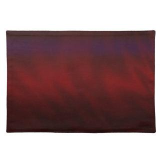 Extracto rojo oscuro ondulado mantel