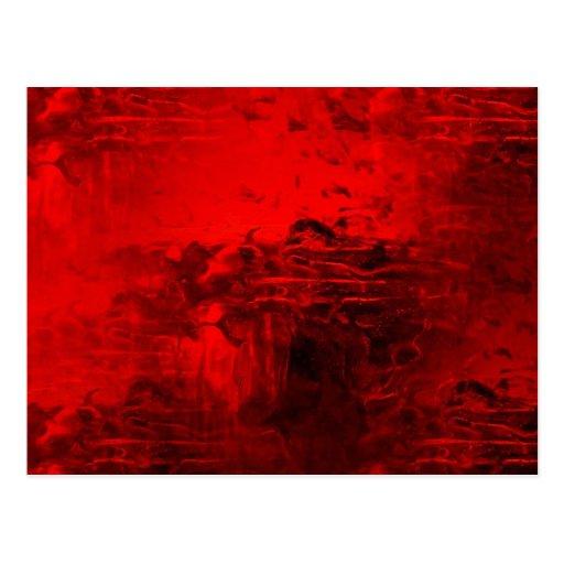 Extracto rojo postal