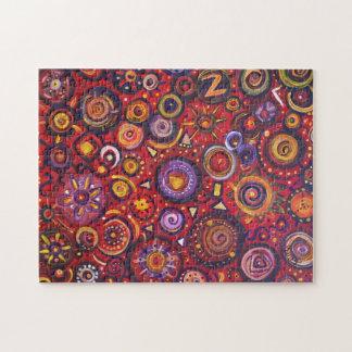 Extracto rojo puzzle