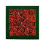 Extracto rojo y negro caja de regalo