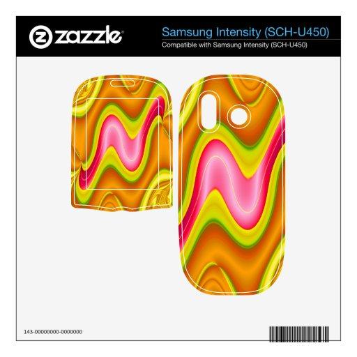 extracto rosado amarillo moderno samsung intensity II skin