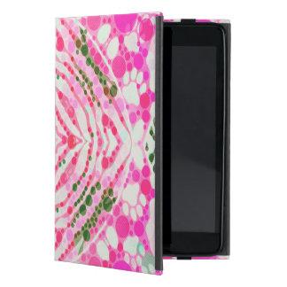 Extracto rosado de la cebra de las patas del iPad mini cárcasas