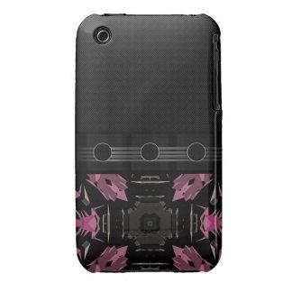 Extracto rosado de lujo iPhone 3 fundas