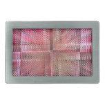 Extracto rosado del modelo por Tutti Hebilla De Cinturon Rectangular