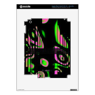 Extracto rosado psicodélico iPad 3 skin