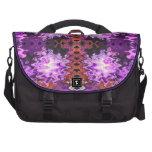 extracto rosado púrpura bolsas de portatil