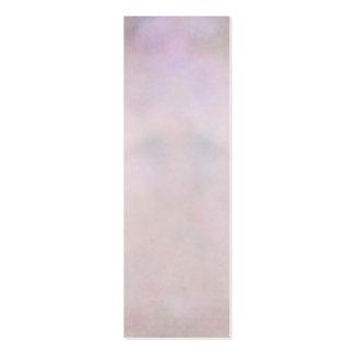 Extracto rosado púrpura en colores pastel de la tarjetas de visita mini