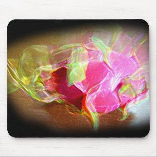 extracto rosado que brilla intensamente stylized d alfombrilla de raton