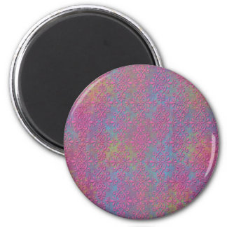 Extracto rosado y multicolor del damasco imán