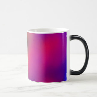 Extracto rosado y verde púrpura taza mágica