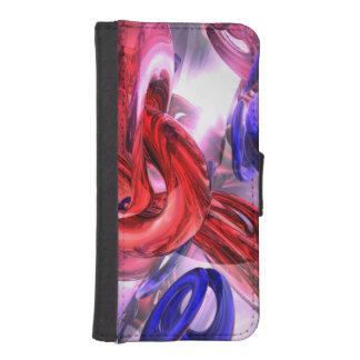 Extracto soltado fundas cartera de iPhone 5