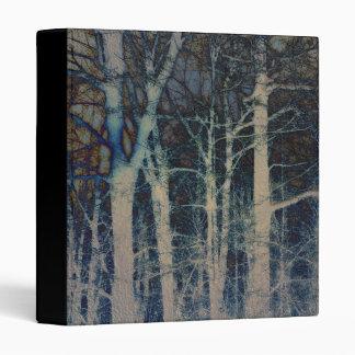 """Extracto texturizado 1"""" del invierno álbum de foto"""