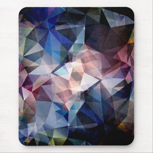 Extracto texturizado del triángulo alfombrilla de ratones