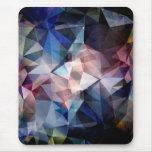 Extracto texturizado del triángulo tapetes de raton