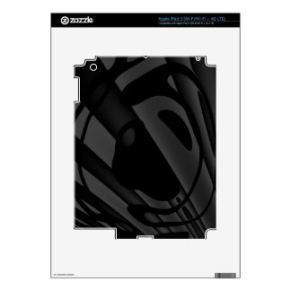 Extracto Trippy de Black&White iPad 3 Skins