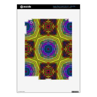Extracto Trippy psicodélico iPad 3 Pegatinas Skins