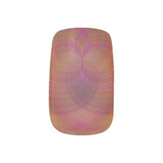 Extracto tropical del corazón pegatina para uñas