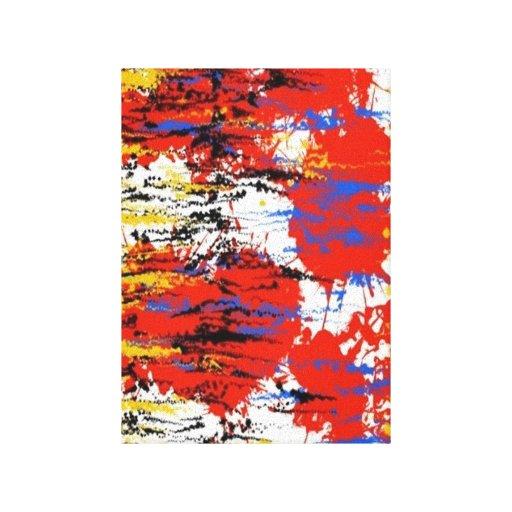 Extracto único impresión de lienzo