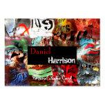 Extracto urbano del Grunge de la tarjeta de presen Plantilla De Tarjeta De Visita