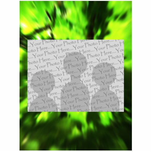 Extracto verde claro fotoescultura vertical
