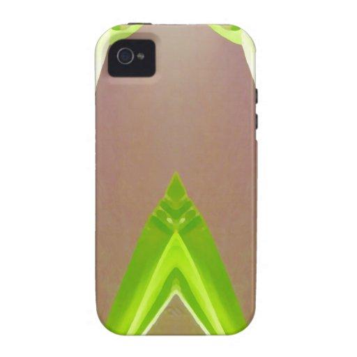 Extracto verde de la hoja vibe iPhone 4 fundas